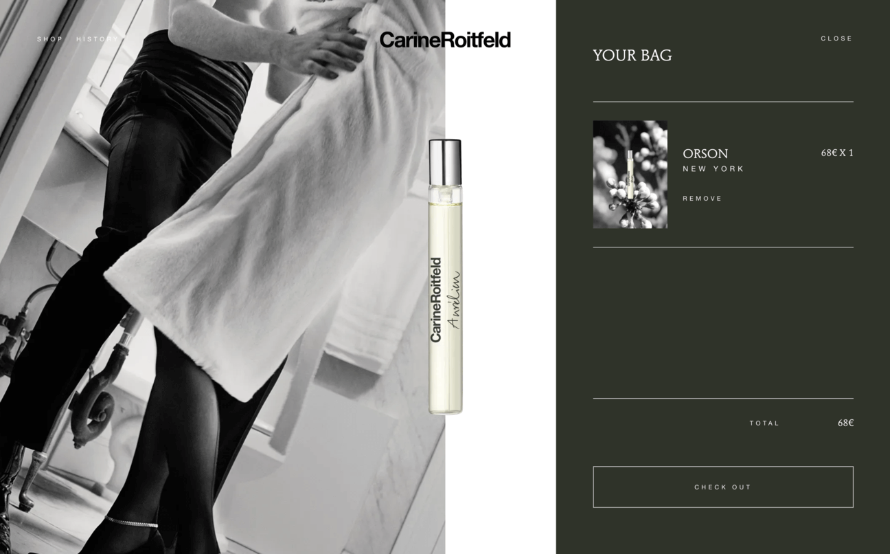 Carine Roitfeld Second Item