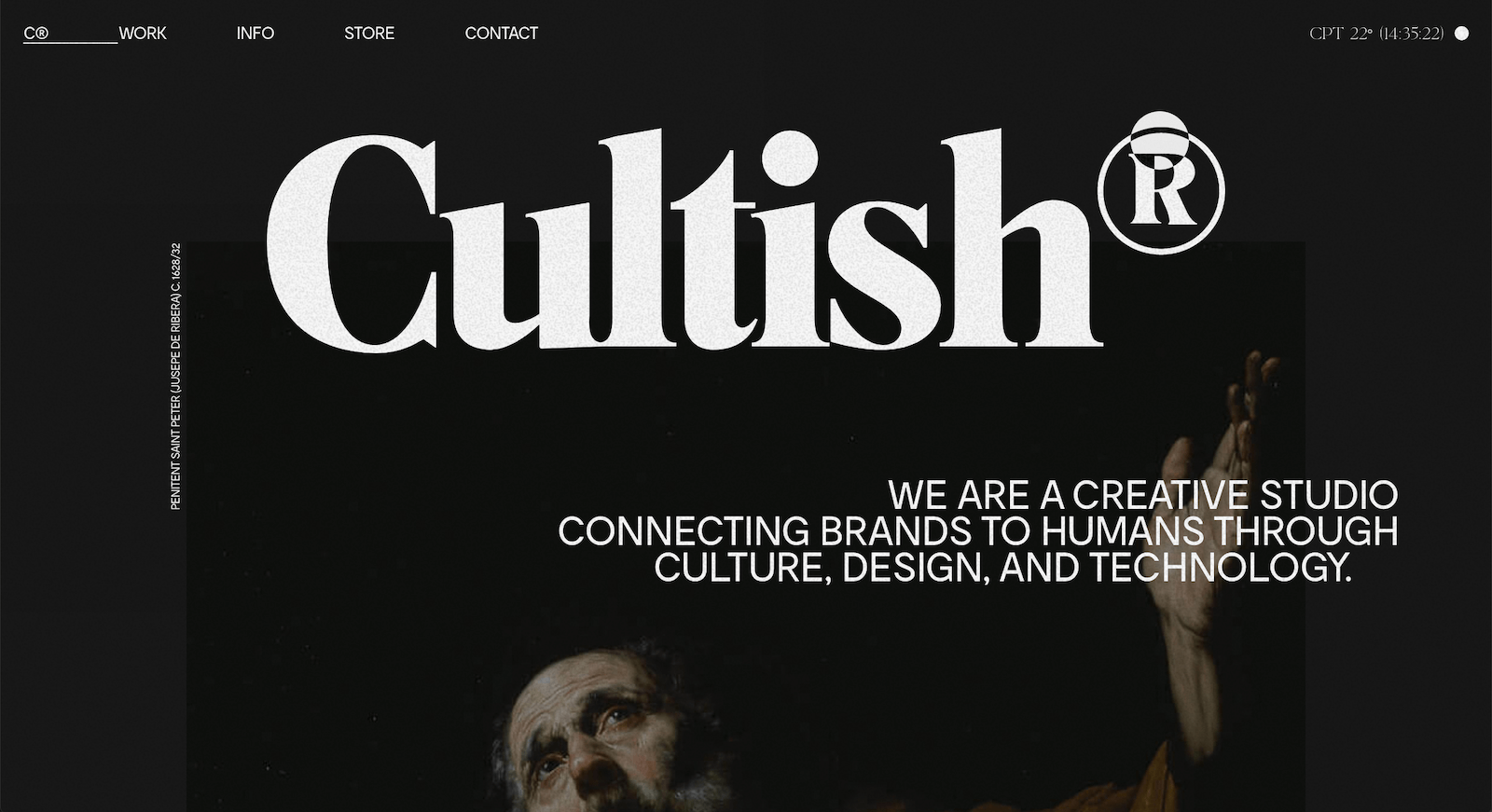 CULTISH Landing Page