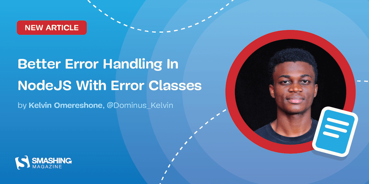 Better Error Handling In NodeJS Article Card