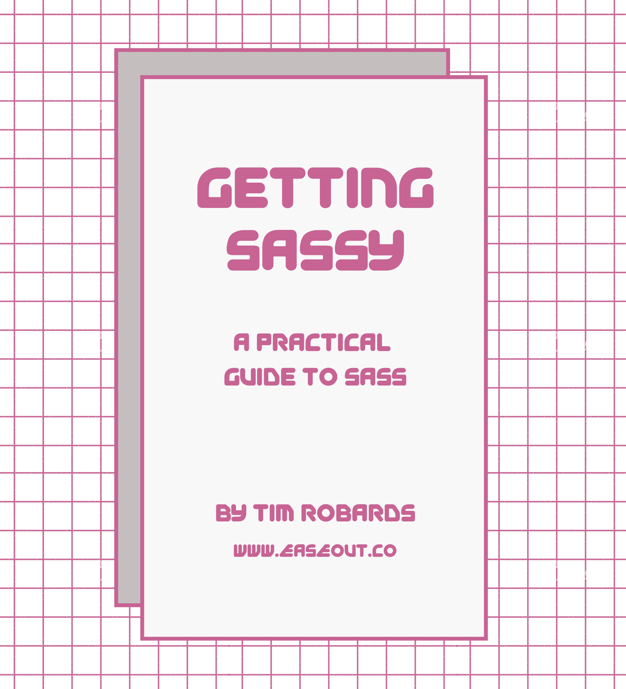 SASS book cover