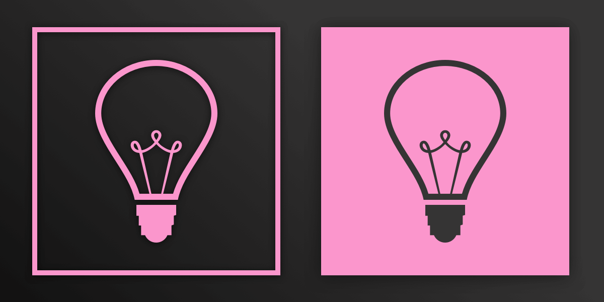 Lightbulb Pink