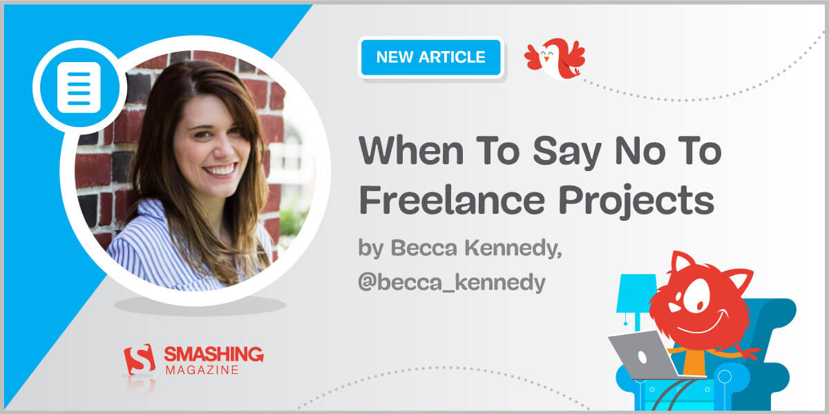 When To Say No To Freelance Projects Article Card