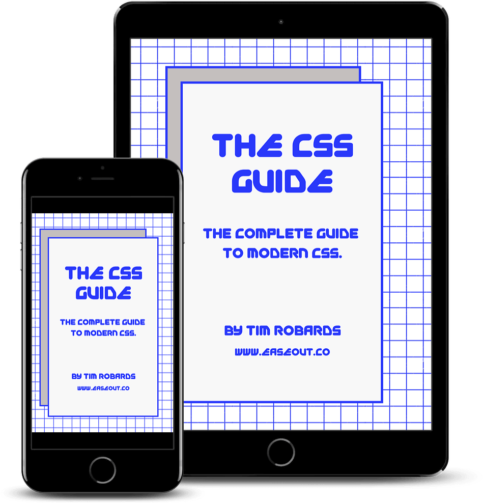 CSS Guide cover mockups