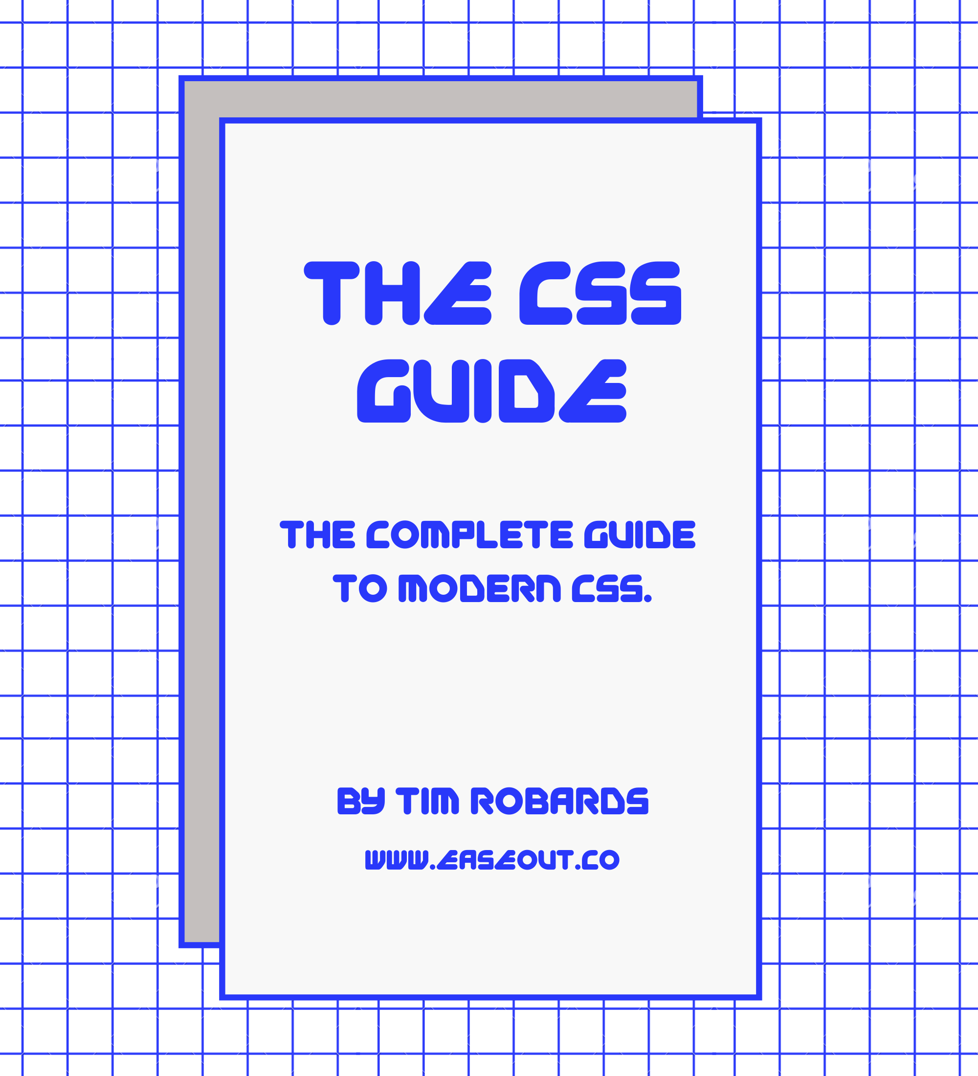 CSS book cover