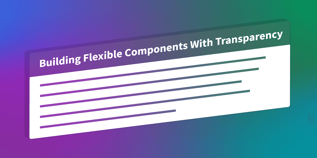 Flexible Components Example
